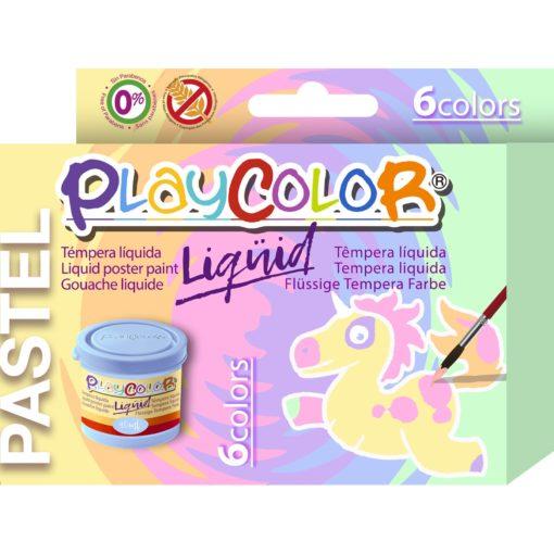 113160-1 Play Color Målarfärg Liquid Pastel 6x40 ml