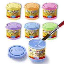 113160 Play Color Målarfärg Liquid Pastel 6x40 ml
