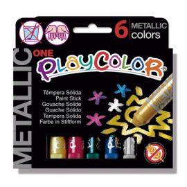 113162 Play Color Kritor Metallic - Set om 6