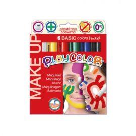 113163-1 Play Color Ansiktsfärg Make Up Pocket - Set om 6