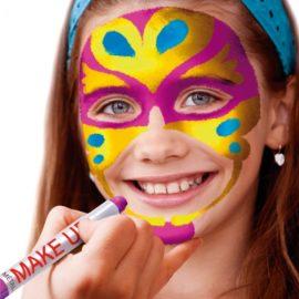 113164 Play Color Ansiktsfärg Metallic Make Up Pocket - Set om 6