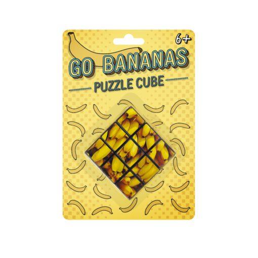 113170-2 Gift Republic Kub Go Bananas Puzzle Cube 3x3x31