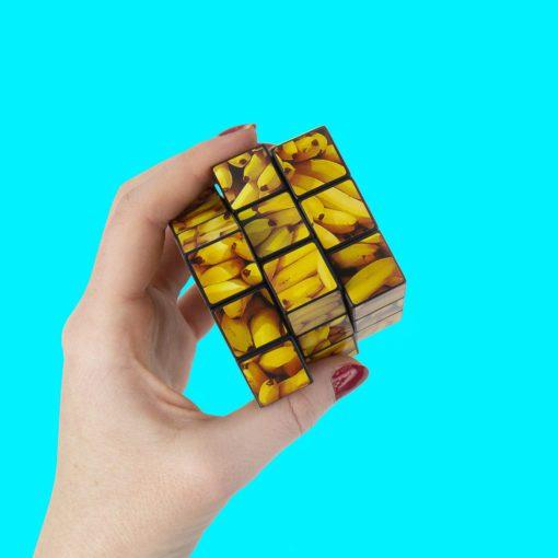 113170 Gift Republic Kub Go Bananas Puzzle Cube 3x3x3