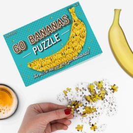 113171-3Gift Republic Pussel Go Bananas Puzzle 316-bitars