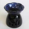 113192-1 Ancient Wisdom Aromalampa Tulip Black & Blue2