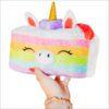 113213 Mini Squishable Comfort Food Unicorn Cake - 18 cm
