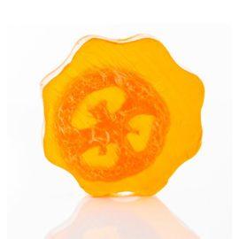 113227 Ancient Wisdom Tvål Loofah Soap - Orange
