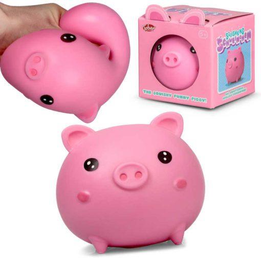 113236-1 Tobar Stressboll Gris Squishkins Pig