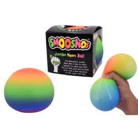 113245-5 Smoosho`s Stressboll Jumbo Rainbow Neon Ball