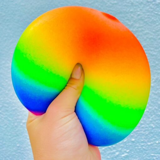 113245 Smoosho`s Stressboll Jumbo Regnbågsfärgad20