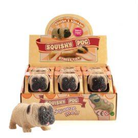 113246 Stressboll Squishy Pug