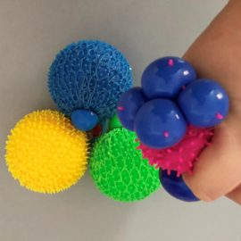 113248-1 Stressboll Mesh Ball with Spikes