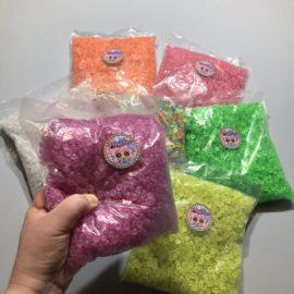 113251-10 Pärlor G.I.D Glow Fishbowl Beads - 7 Colors