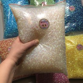 113252-10 Pärlor Iridescent Bingsu Beads - 7 Colors