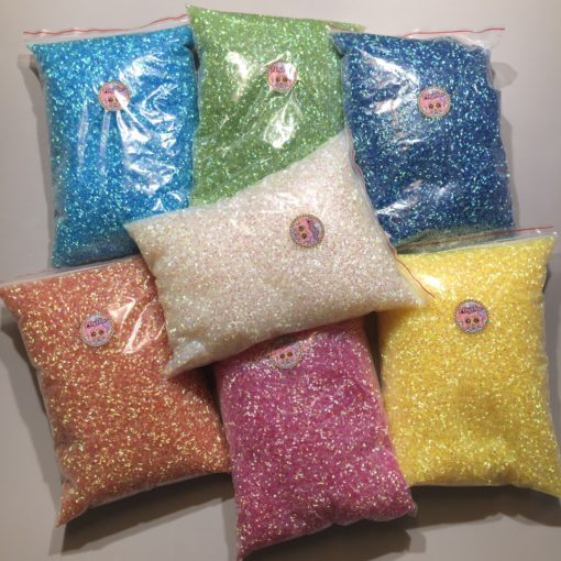 113252-11 Pärlor Iridescent Bingsu Beads - 7 Colors