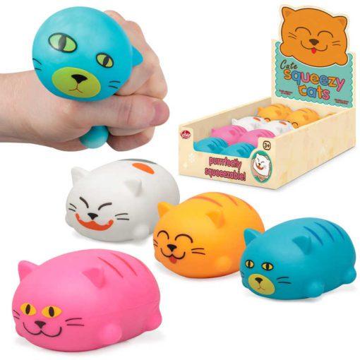 113258-5 Tobar Stressboll Squeeze Cat