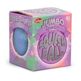 113260-4 Tobar Stressboll Jumbo Sparkly Squishball
