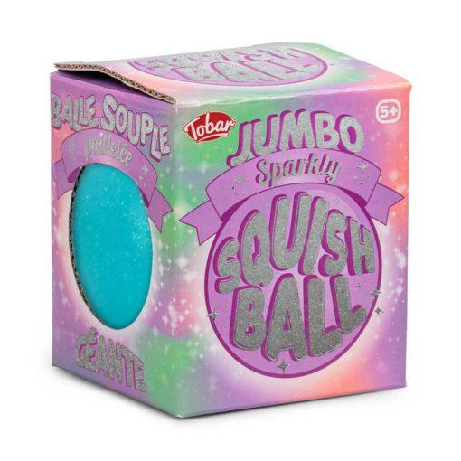 113260-6 Tobar Stressboll Jumbo Sparkly Squishball