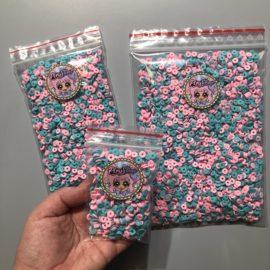 113272-1 Miniatyr Deco Cotton Candy Loop Sprinkles
