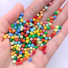 113284 Miniatyr Deco Rainbow Pearl Sprinkles