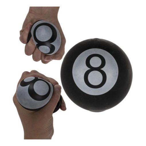 113294 Stressboll Biljardkula Mjuk Magic 8-Ball