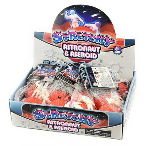 113301-1 Stressboll Stretchy Astronaut i Rymden