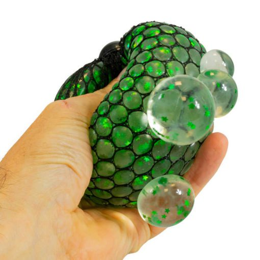 113309 Tobar Stressboll Jumbo Mesh Ball Glitter