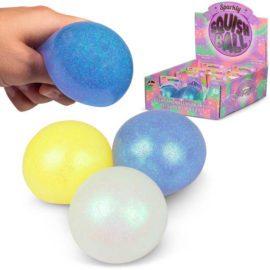 113310-1 Tobar Stressboll Skimrande Glitter