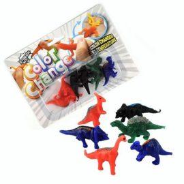 113315 Fidget Toy Stretchy & Färgskiftande Dinosaurier