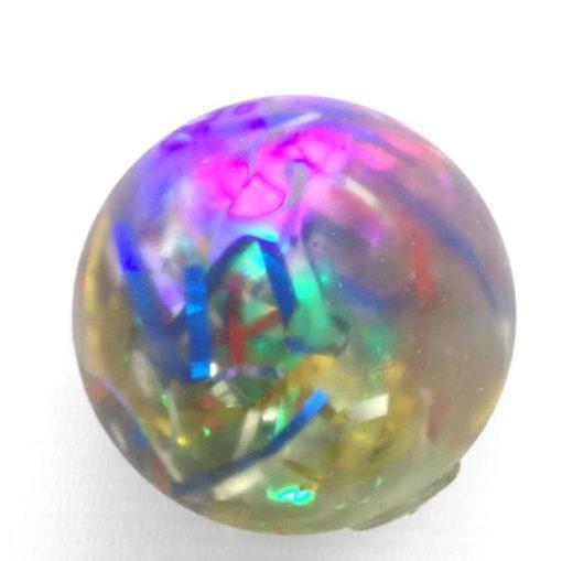 113322-3 Stressboll Light-up Konfetti