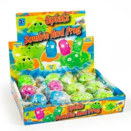 113327 Fidget Toy Splat Zombie & Frog