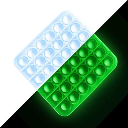 113331 Pop It Fidget Toy G.I.D. Glow-in-the-dark