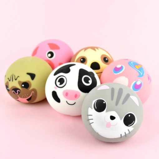 113341-1 Fidget Toy Squeeze Djurboll
