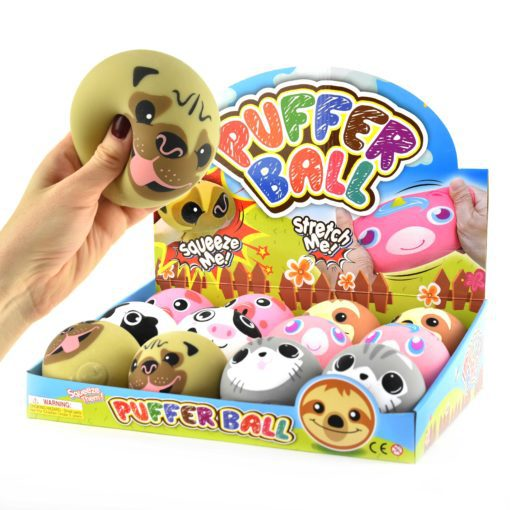 113341 Fidget Toy Squeeze Djurboll