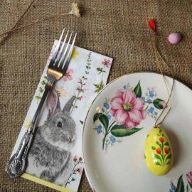 113369-1 Talking Tables Servetter Kanin 33x33 cm 20 st – Truly Bunny