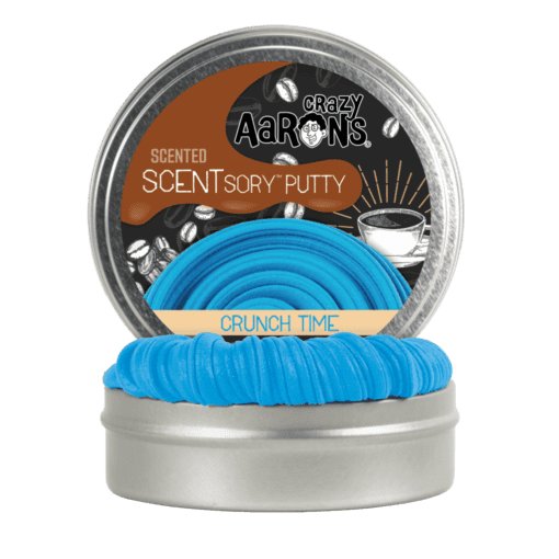 113381 Crazy Aarons SCENTsory Putty Crunch Time Mocha Coffee Scented