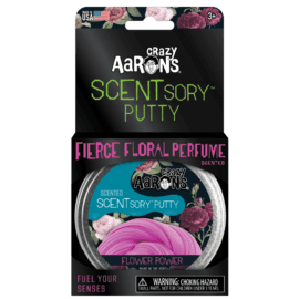 113382-3 Crazy Aarons SCENTsory Putty Flower Power Floral Scented