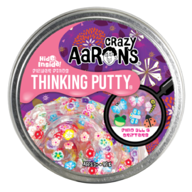 113392-3 Crazy Aarons Thinking Putty Hide Inside Flower Finds