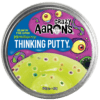 113397-2 Crazy Aarons Thinking Putty Trendsetter Monstrosity Glow-in-the-dark