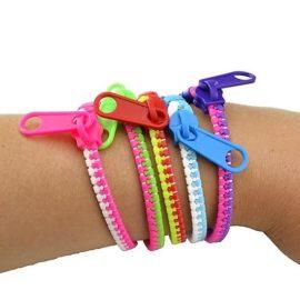 113398-1 Zipper Bracelets Fidget Toy