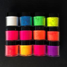 113416-7 UV Neon Pulver 12-pack