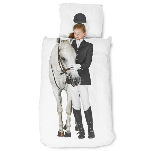 113421-1 SNURK Sängkläder - Hästtjej