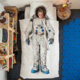 113423-2 SNURK Sängkläder - Astronaut