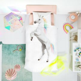 113424-1 SNURK Sängkläder - Unicorn