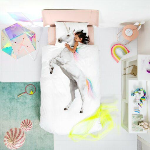 113424-3 SNURK Sängkläder - Unicorn