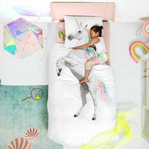 113424-4 SNURK Sängkläder - Unicorn
