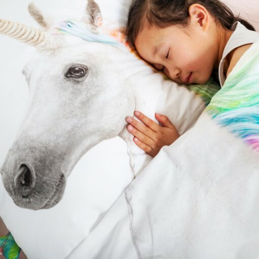 113424 SNURK Sängkläder - Unicorn