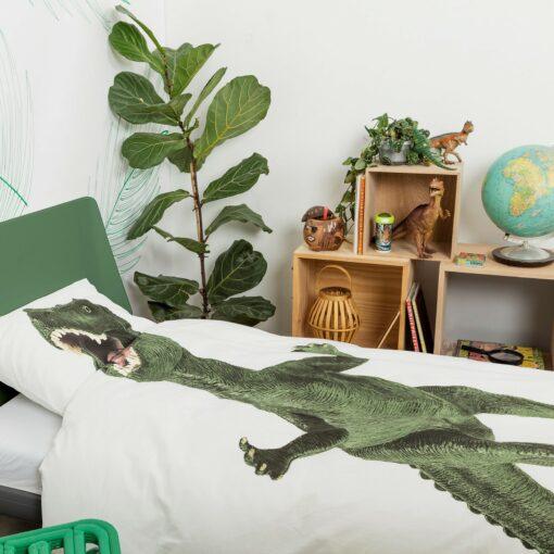 113425-2 SNURK Sängkläder - Dinosaurie Rex