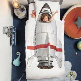 113427-1 SNURK Sängkläder - Rymdraket