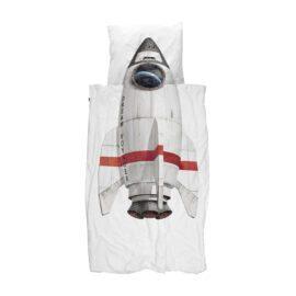 113427-3 SNURK Sängkläder - Rymdraket